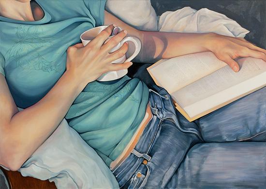 La magia en un libro - Página 4 Time-Out-Oil-on-Canvas-2010-Daryl-Zang